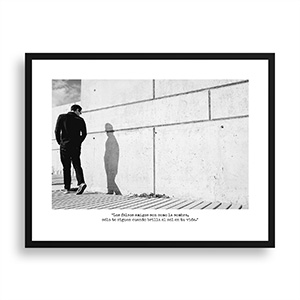 Fotografía original Día 12 con marco negro