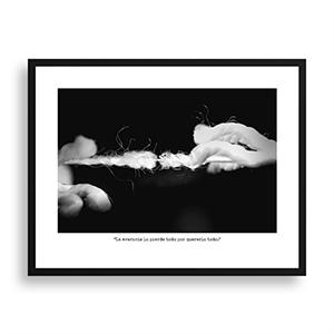 Fotografía original Día 18 con marco negro