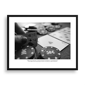 Fotografía original Día 21 con marco negro