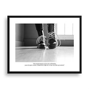 Fotografía original Día 24 con marco negro