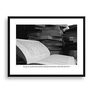 Fotografía original Día 25 con marco negro