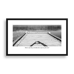Fotografía original Día 26 con marco negro