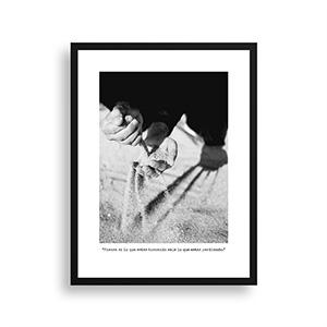 Fotografía original Día 27 con marco negro