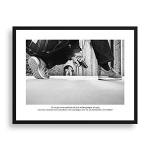 Fotografía original Día 8 con marco negro