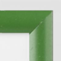 Aluminio Verde Lacado Mate